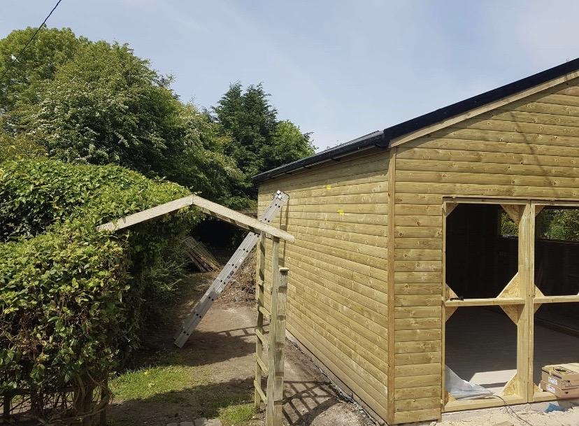 Garage and Loft Conversion Shropshire